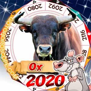 2020 Horoscope for Ox Zodiac Sign
