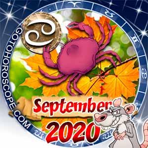 Cancer Horoscope for September 2020