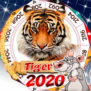 2020 Horoscope for Tiger Zodiac Sign