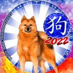 Dog Chinese New Year Horoscope 2022