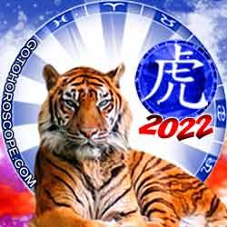 Tiger Chinese New Year Horoscope 2022