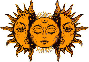 Horoscope Houses sign of The Sun and Moon