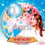 Birthday Horoscope April 1st