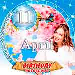 Birthday Horoscope April 11th