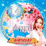 Birthday Horoscope for April 14th