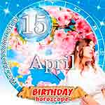 Birthday Horoscope for April 15th