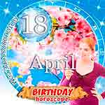Birthday Horoscope April 18th