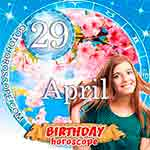 Birthday Horoscope April 29th