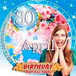 Birthday Horoscope April 30th