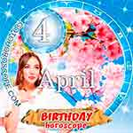 Birthday Horoscope for April 4th