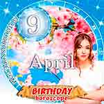 Birthday Horoscope for April 9th