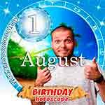 Birthday Horoscope for August 1st