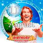 Birthday Horoscope August 11th