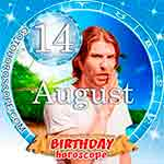 Birthday Horoscope August 14th