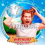 Birthday Horoscope August 17th