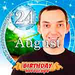 Birthday Horoscope for August 24th