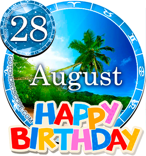 Birthday Horoscope August 28th for all Zodiac signs