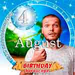 Birthday Horoscope August 4th