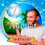 Birthday Horoscope for August 7th