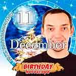 Birthday Horoscope for December 11th
