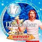 Birthday Horoscope for December 17th