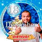 Birthday Horoscope December 18th