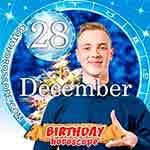 Birthday Horoscope for December 28th