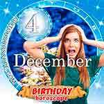 Birthday Horoscope December 4th