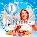 Birthday Horoscope February 1st