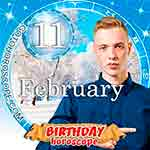 Birthday Horoscope February 11th
