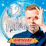 Birthday Horoscope for February 12th