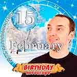 Birthday Horoscope for February 15th