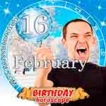 Birthday Horoscope for February 16th