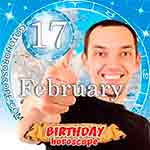 Birthday Horoscope February 17th