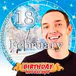 Birthday Horoscope February 18th