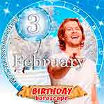 Birthday Horoscope February 3rd