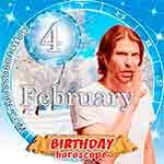 Birthday Horoscope February 4th