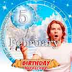 Birthday Horoscope February 5th
