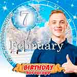 Birthday Horoscope for February 7th