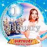 Birthday Horoscope January 1st