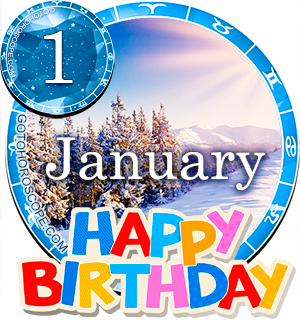 Birthday Horoscope January 1st for all Zodiac signs