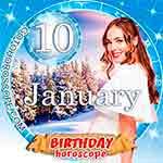 Birthday Horoscope January 10th