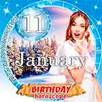 Birthday Horoscope January 11th