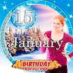 Birthday Horoscope January 15th