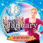Birthday Horoscope January 18th