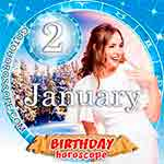 Birthday Horoscope January 2nd