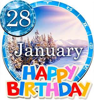 Birthday Horoscope January 28th for all Zodiac signs
