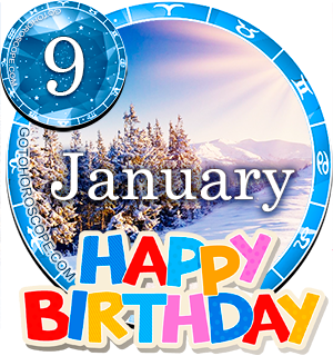 Birthday Horoscope January 9th for all Zodiac signs