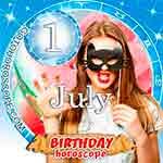 Birthday Horoscope for July 1st