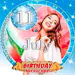 Birthday Horoscope for July 11th